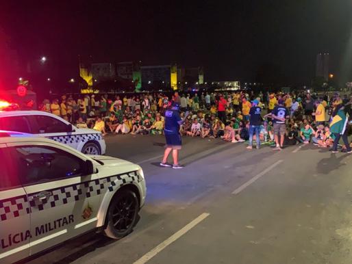 Polícia do DF pode expulsar manifestantes da Esplanada dos Ministérios