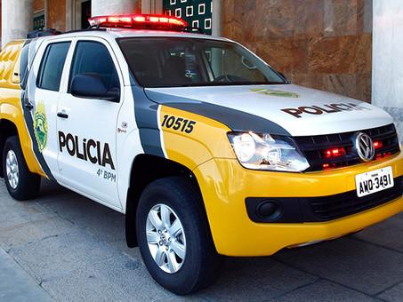POLÍCIA MILITAR CUMPRE MANDADO DE PRISÃO EM SANTA TEREZINHA DE ITAIPU