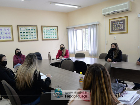 Bancada Feminina dialoga com representantes do Patronato sobre projeto Mulheres em Ação