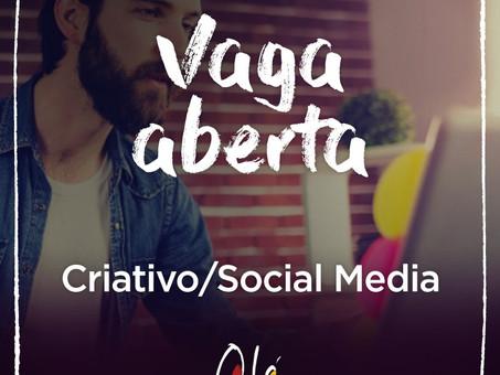 Sabe tudo sobre Criativo e/ou Mídias Sociais?