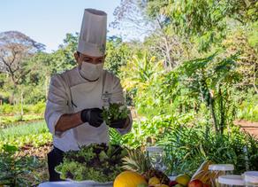 Experiência gastronômica única na horta orgânica do Bourbon Cataratas do Iguaçu Resort