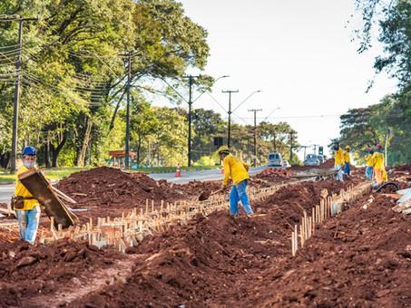 General redirecionou recursos de aproximadamente US$ 1 bilhão para obras