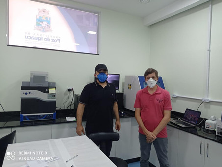 Vice-prefeito de Foz do Iguaçu conhece estrutura do Hospital Municipal Padre Germano Lauck