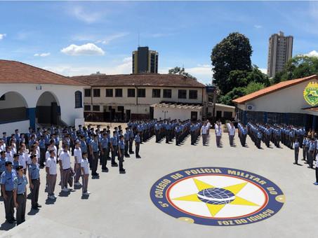 Programa cívico-militar será implantado em sete colégios de Foz do Iguaçu