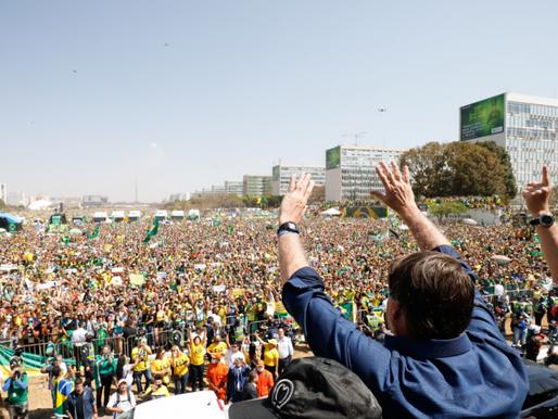 'Brasil deu o grito de liberdade, um novo grito de independência', diz Rodolpho Loreto
