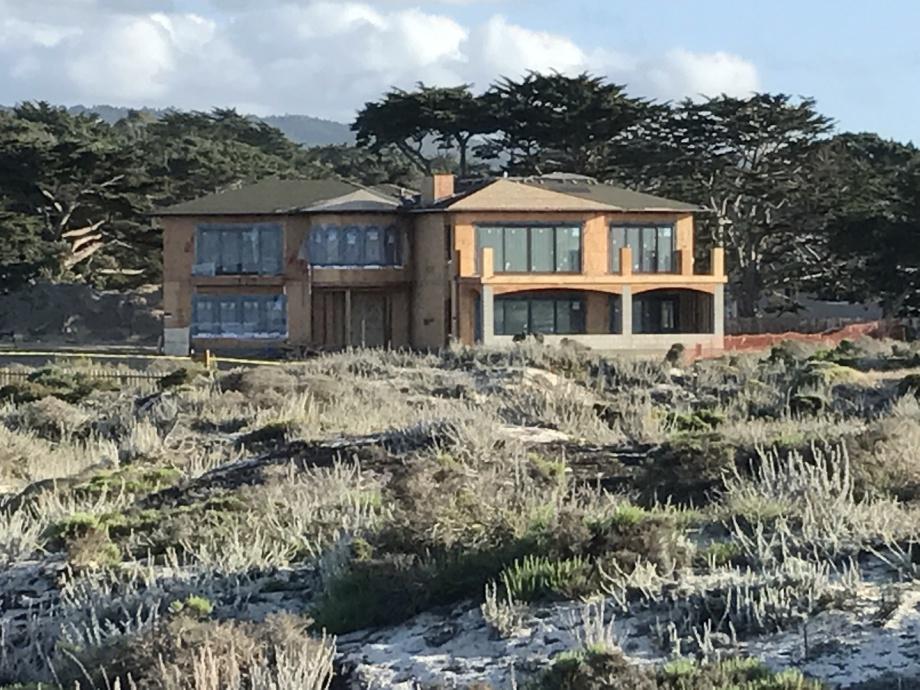 Custom home in Pacific Grove, CA