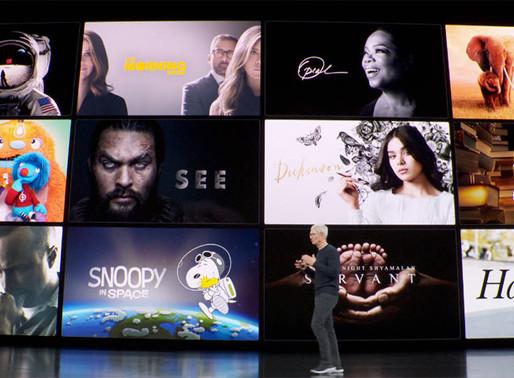 "Apple TV+ Launching November 1st & Disney's Putting the ""War"" in Warning"