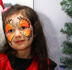 Maquillage enfant - Noël ATC