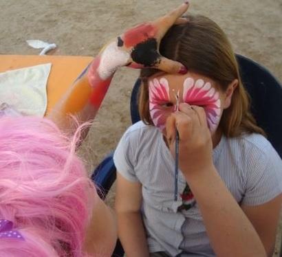 Face-painting - Festival des enfants