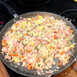 Low-Carb Cantonese Rice