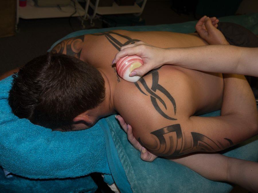 Lava Shell Deep Heat Massage