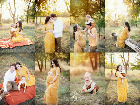 Outdoor Maternity Photo Session | Victoria, Texas