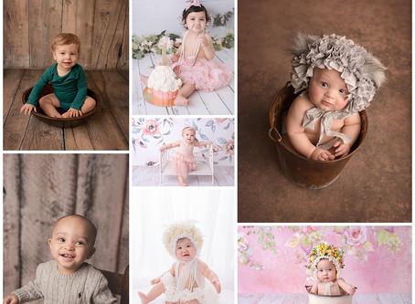 Milestone Baby Photography in Victoria, Texas