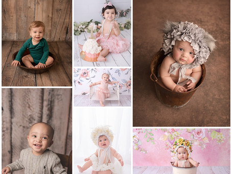 Milestone Baby Photography in Victoria, Texas