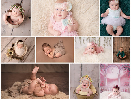 A Year of Baby Pictures: One Year Photography Package
