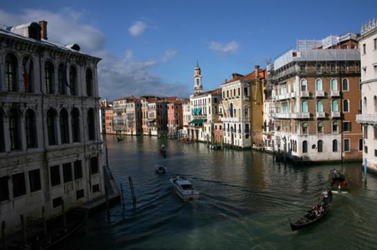 Famous Venice Canal View