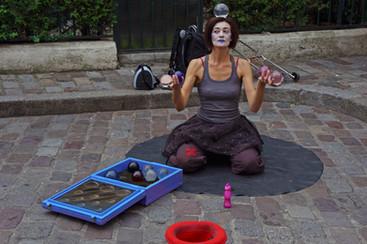 Paris Street Performer - September, 2013