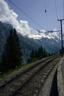Mountain Village Train Tracks