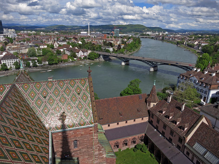 Rhein from atop the Munster Cathedral