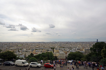City view from Montmartre - September, 2013