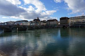 Beautiful Sky over the Rhein - February, 2014