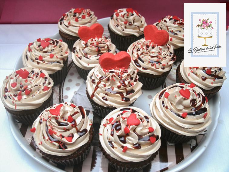 cupcakes san valentin