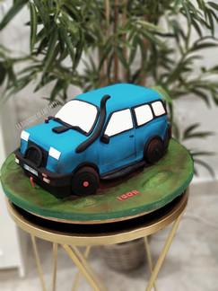 tarta coche 4x4