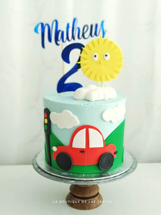 tarta coche