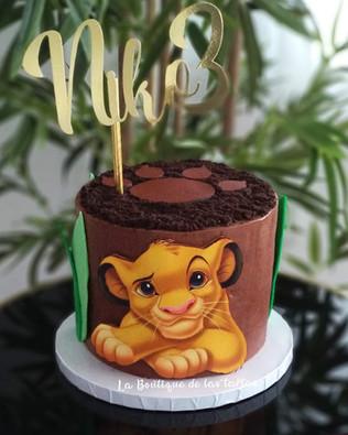 tarta el rey leon