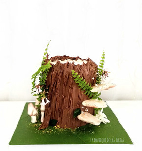 tarta tronco