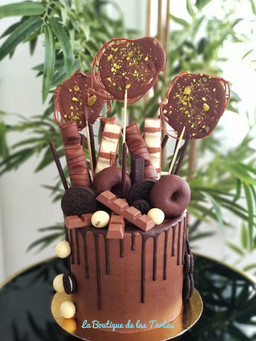 tarta chocolates