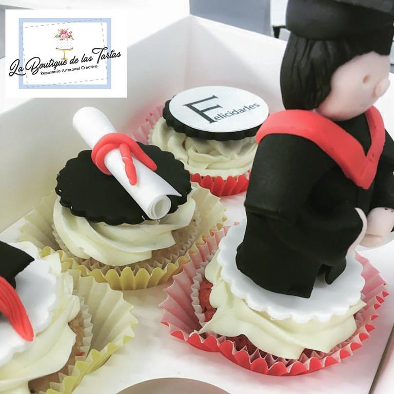 cupcakes raduacion