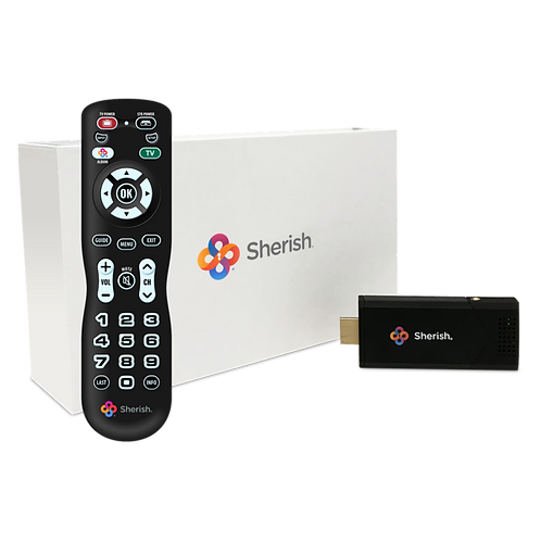 Sherish TV Receiver and Remote