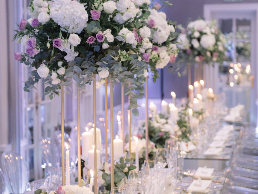 10 Tall Floral Centerpieces To Make Your Tables Pop