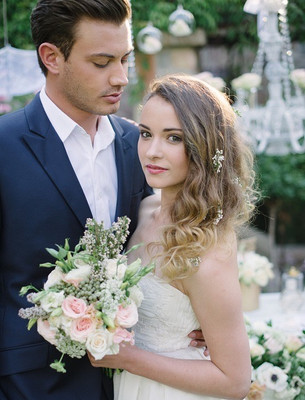 Lettre D'amour Styled Shoot
