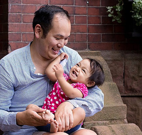 Solo father talks stigma, grief and those absurd questions every intended parent gets asked.