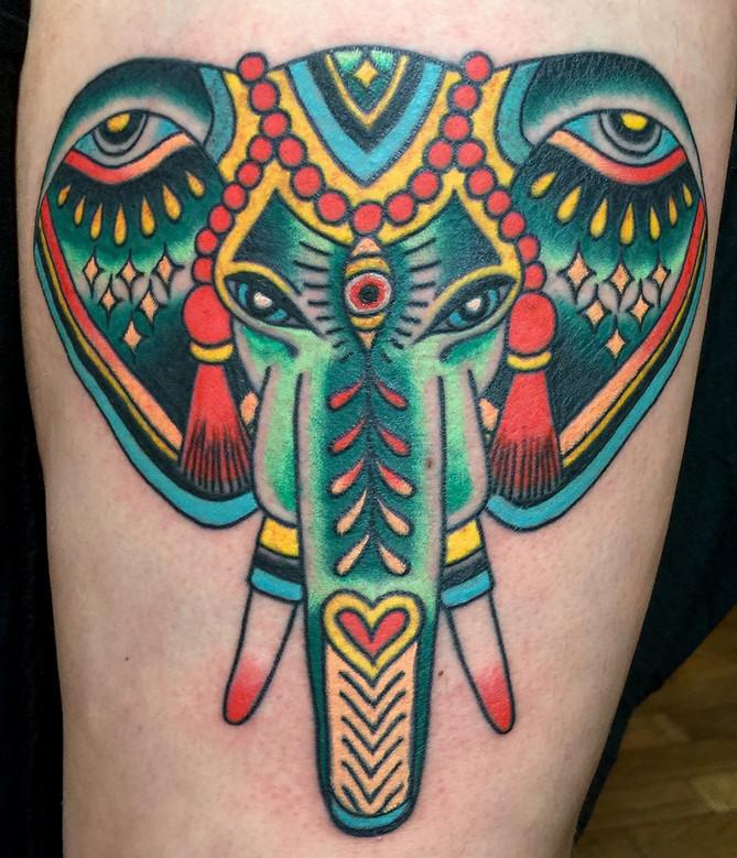 VIRGINIA ELWOOD   Brooklyn   Saved Tattoo