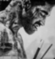 realistic pointillism illustration