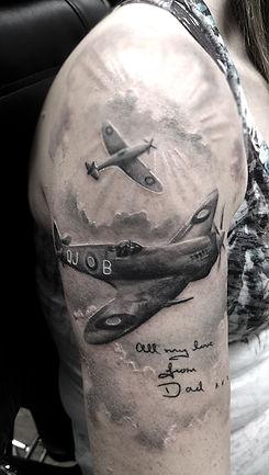 spitfire tattoo