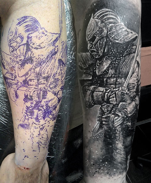 ronin samurai tattoo