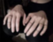 finger lines tattoo