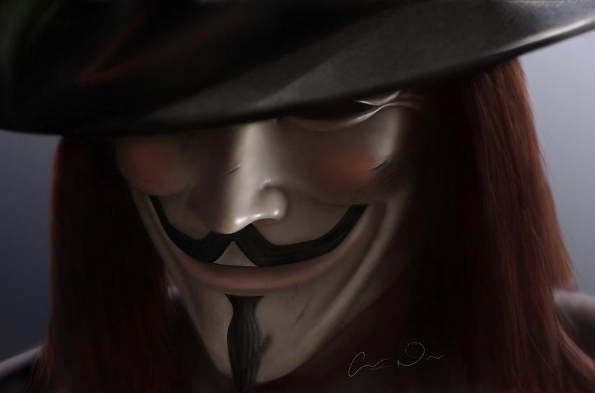 vendetta painting art anonymous