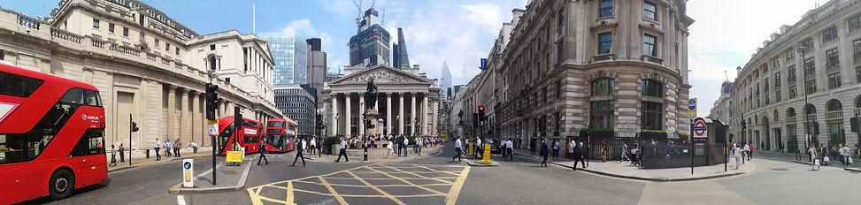 bank of england london panorama