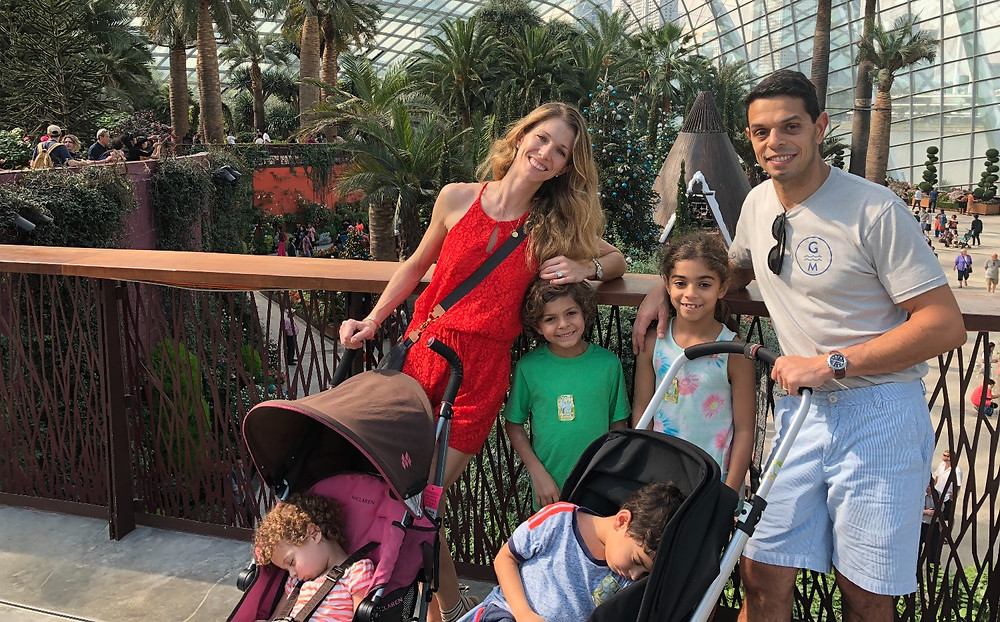 Touring Gardens by the Bay in Singapore