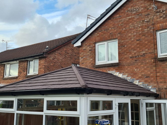 Metrotile Conservatory Roof Conversion - Warrington