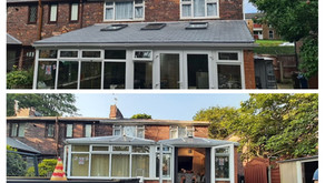 Case Study: Slate Tiled & Insulated Roof - Prestwich