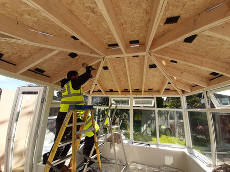 Your New Tiled Conservatory Roof - The Installation Process