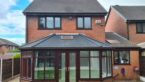 Case Study -  Icotherm Tiled & Insulated Conservatory Roof Conversion - Worsley