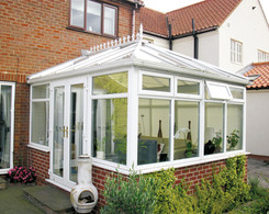 Poly carbonate conservatory roof
