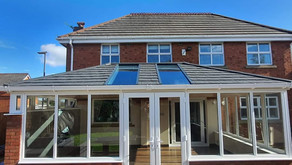 Case Study: Tiled & Insulated Conservatory Roof Conversion - Tyldesley